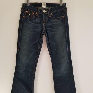 True Religion flap pocket jeans